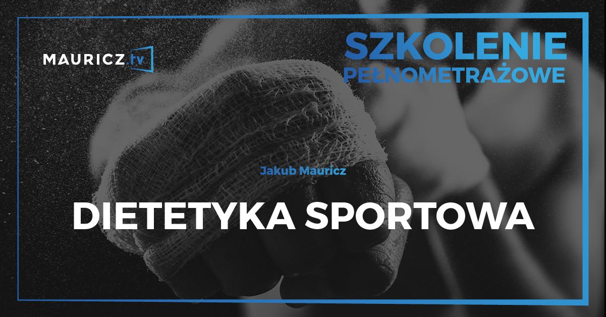 Dietetyka Sportowa Jakub Mauricz